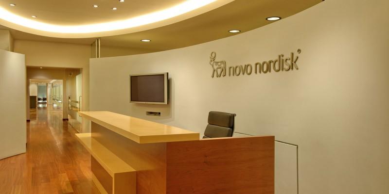 Διαρρύθμιση γραφείων της φαρμακευτικής εταιρείας Novo Nordisk A/S